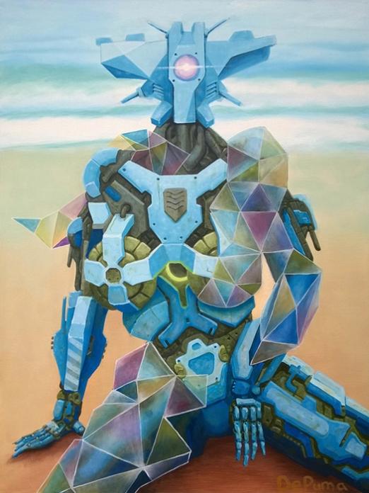 """4NN4; oil on canvas, 48"""" x 36"""""""