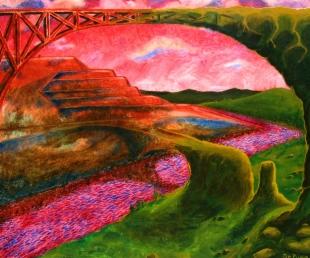 "Civ I; oil on canvas, 48"" x 36"""