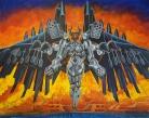"V.E.N.U.S.; oil on canvas, 60"" x 48"""